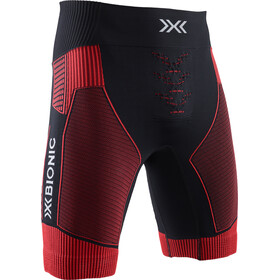 X-Bionic Effektor G2 Pantalones cortos running Hombre, opal black/sunset orange